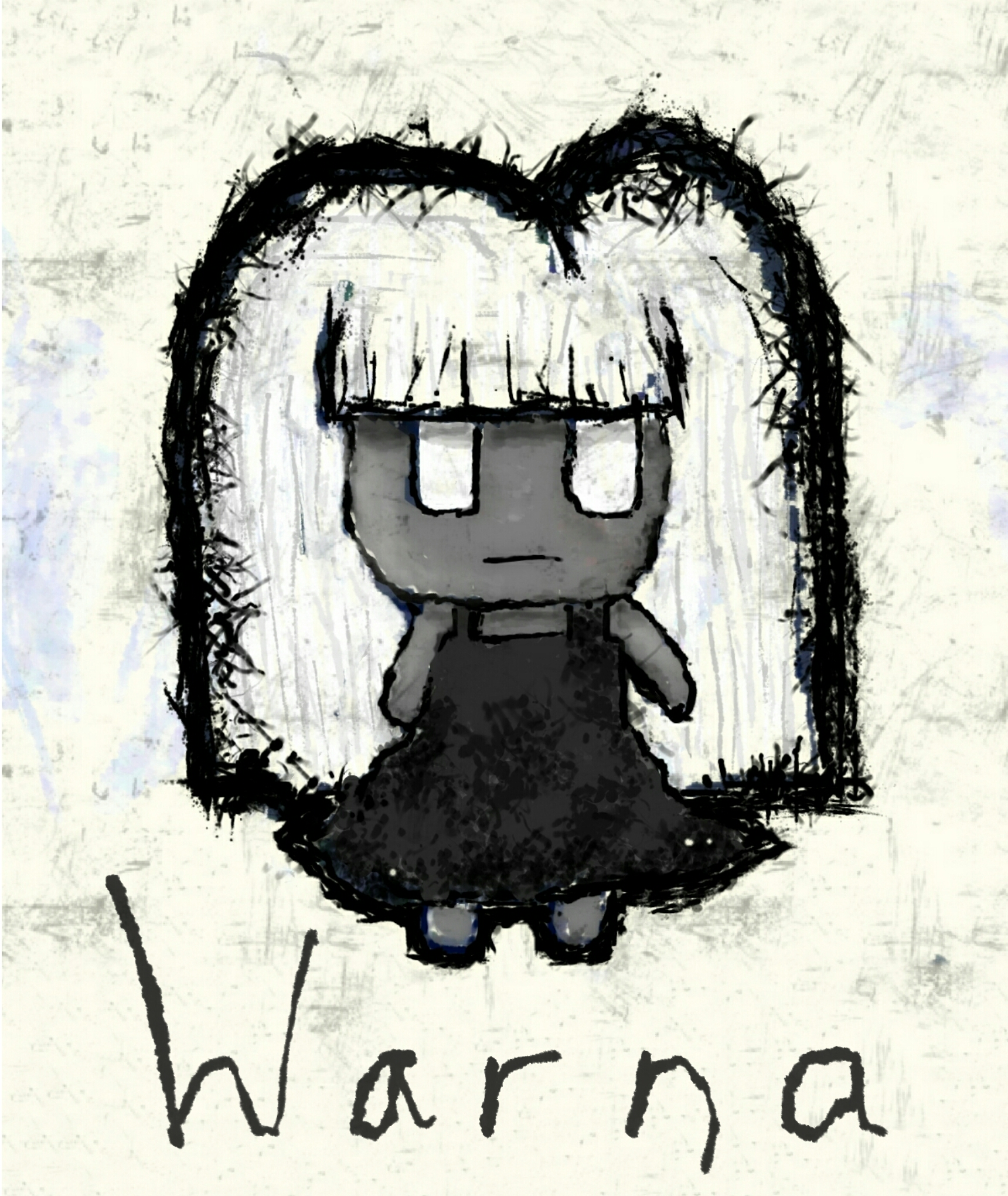 Warna - The main character